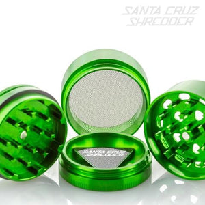 SANTA CRUZ SHREDDER | MEDIUM | 4 - PIECE - Charlotte CBD Shop