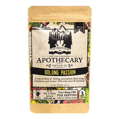 APOTHECARY CBD HEMP TEA | OoLONG PASSION - CHARLOTTE CBD