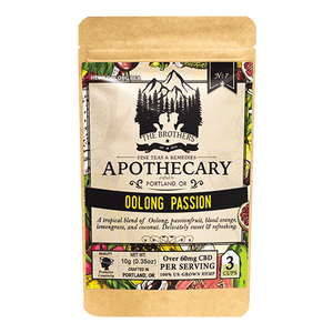 APOTHECARY CBD HEMP TEA | OoLONG PASSION - Charlotte CBD Shop