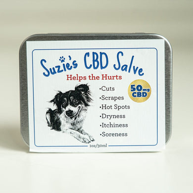 SUZIES PET SALVE | 50MG - CHARLOTTE CBD