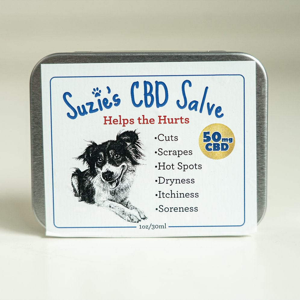 SUZIES PET SALVE | 50MG - Charlotte CBD Shop
