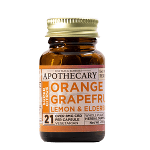 APOTHECARY BROTHERS CAPSULES | SUPER CITRUS  | 1OZ - CHARLOTTE CBD
