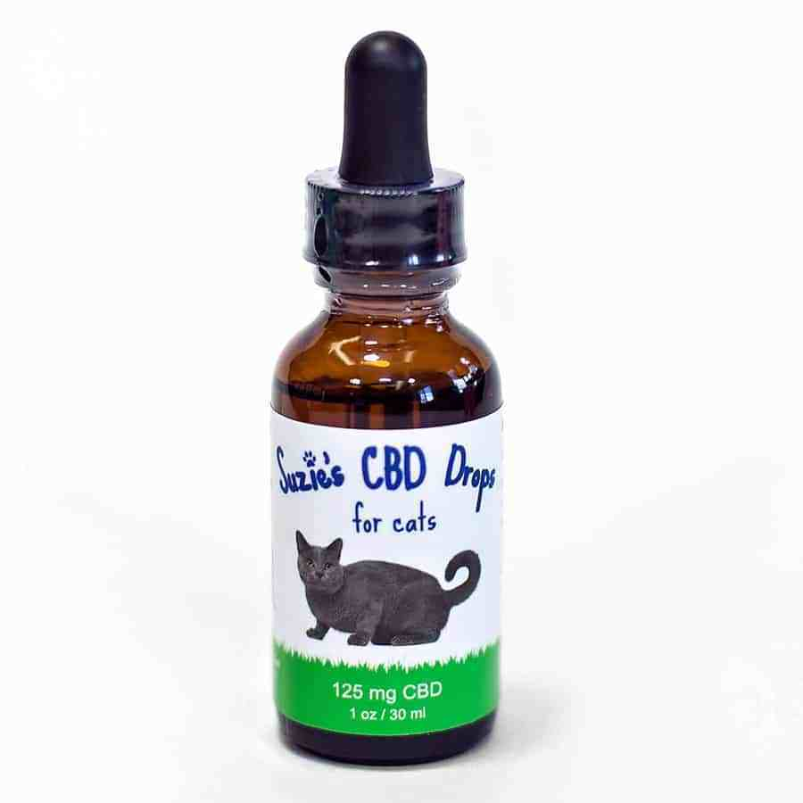 Suzie's CBD Drops for Cats offer a nice low dose per dropper perfect for our smaller, but still loved, feline friends. With 125 mg of CBD mixed into Organic Safflower Oil this dropper is easily administered directly under the tongue or on top of your pets favorite food.   With 3 mg in a full dropper, we recommend you experiment with half a dropper and monitor results and find what works best for your companion.