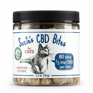 SUZIES CBD BITES | FOR CATS | 80CT - CHARLOTTE CBD