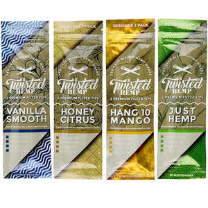 TWITSED HEMP WRAPS | ASSORTED FLAVORS