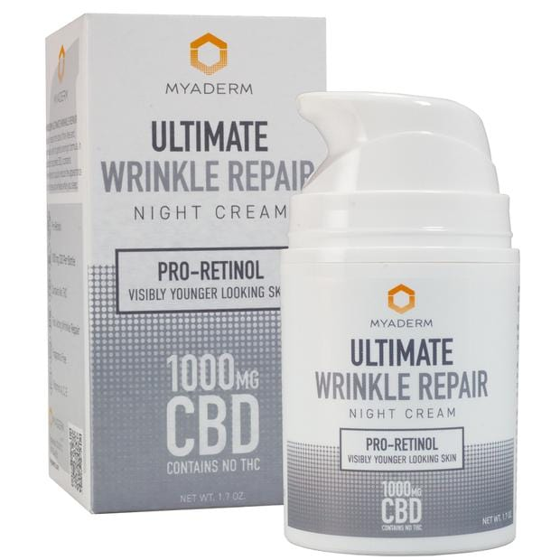 MYADERM ULTIMATE WRINKLE REPAIR | 1000MG - CHARLOTTE CBD
