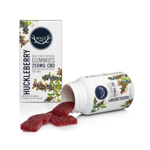 WYLD CBD HUCKLEBERRY GUMMIES | 250MG - Charlotte CBD Shop