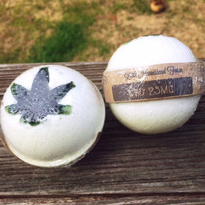 LITTLE HOMESTEAD FARM CANNABIS BATH BOMB | 25MG - Charlotte CBD Shop