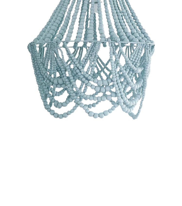 The Grande (Maxi) Beaded Chandelier Light