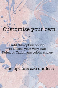 Customise Your Own Colour ADD ON