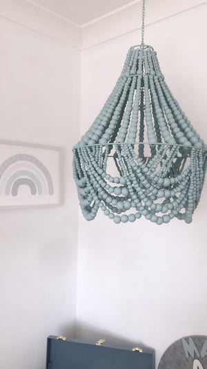 The Elsie (Mini) Beaded Chandelier Light