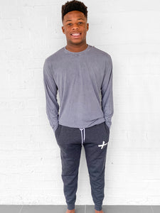 Love One Unisex Joggers Heather Grey