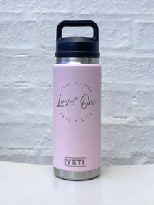 Yeti Rambler 26 oz Bottle  Ice Pink