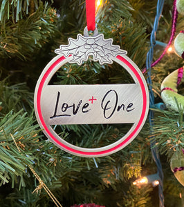 Love One Circle Ornament