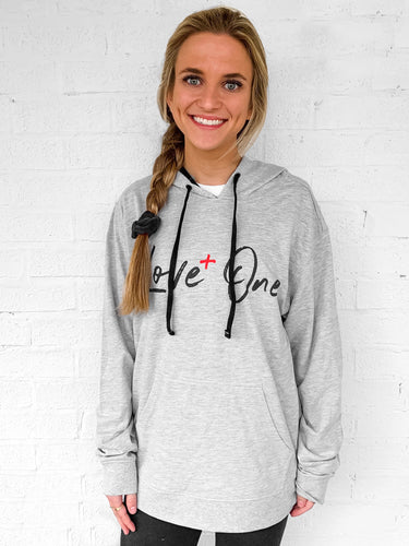 Love One Heather Hoodie