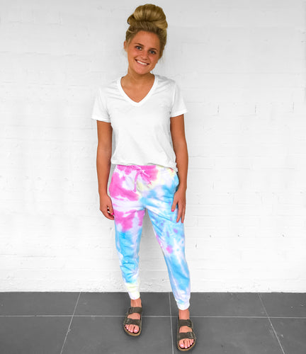 Love One Tie Dye Sweatpants