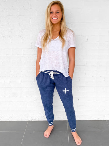 Love One Ladies Rally Joggers Heather Royal