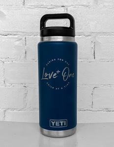 Yeti Rambler 26 oz Bottle Navy