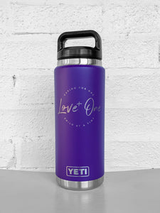 Yeti Rambler 26 oz Bottle  Purple