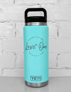 Yeti Rambler 26 oz Bottle Seafoam