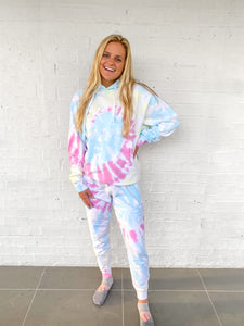 Love One Tie Dye Sweatpants & Hoodie