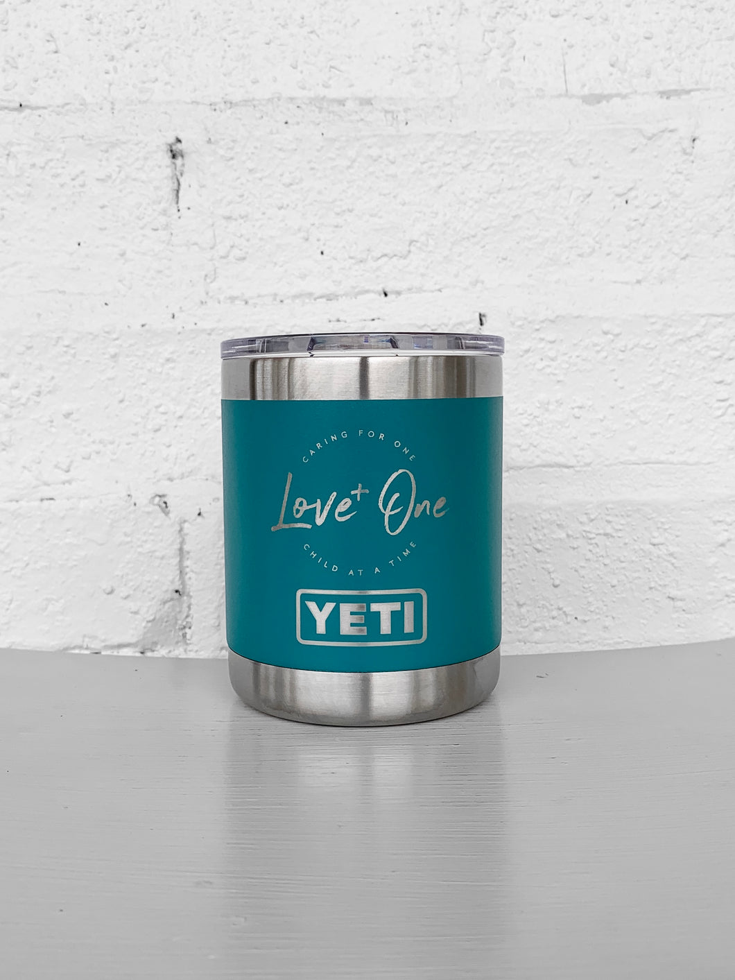 Yeti Rambler 10 oz Lowball  River Green
