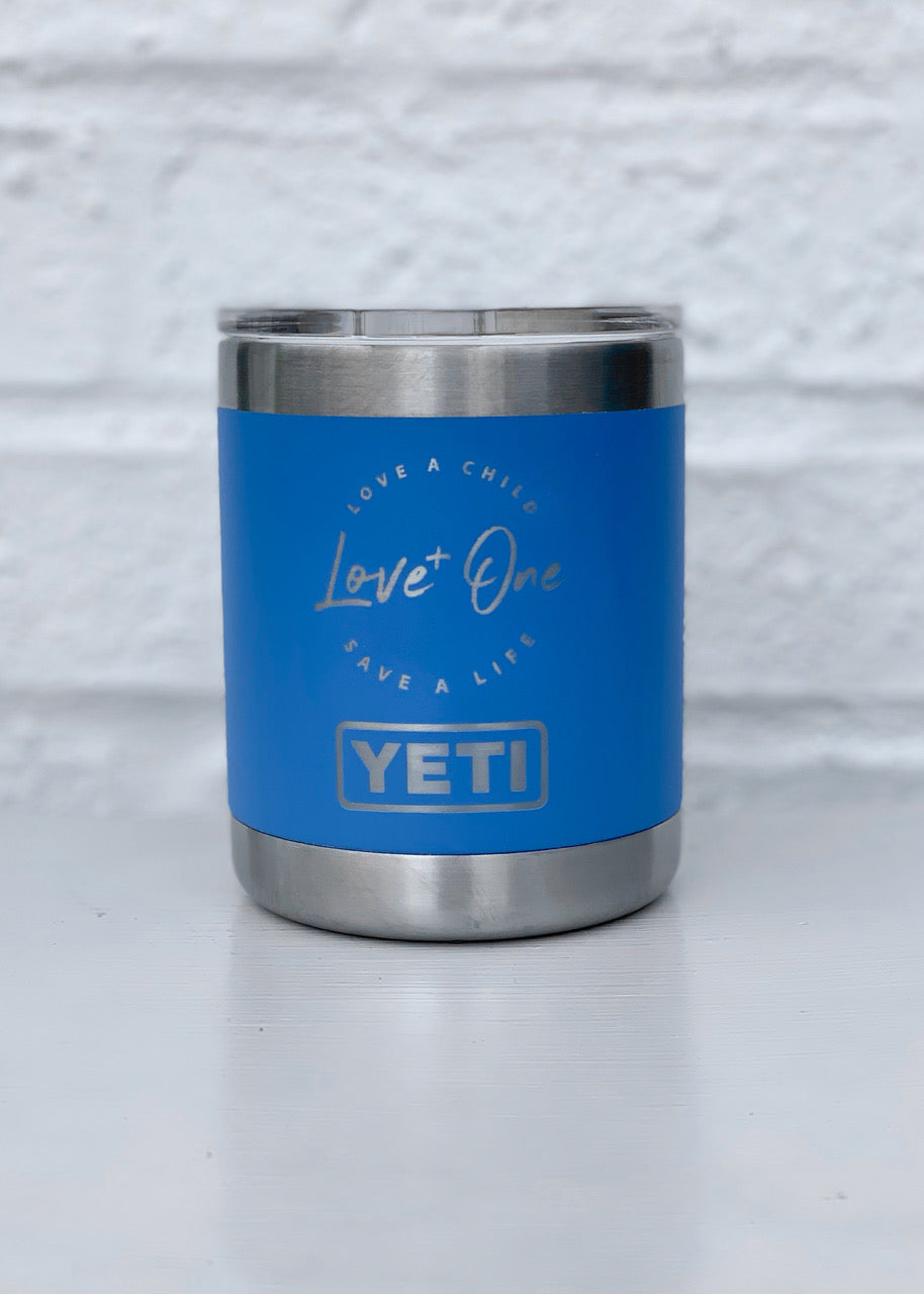 Yeti Rambler 10 oz Lowball  Pacific Blue
