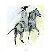 Horse and Rider by Julia Midgley