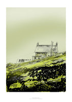 Orkney Cottage in Mist by Edward Davies
