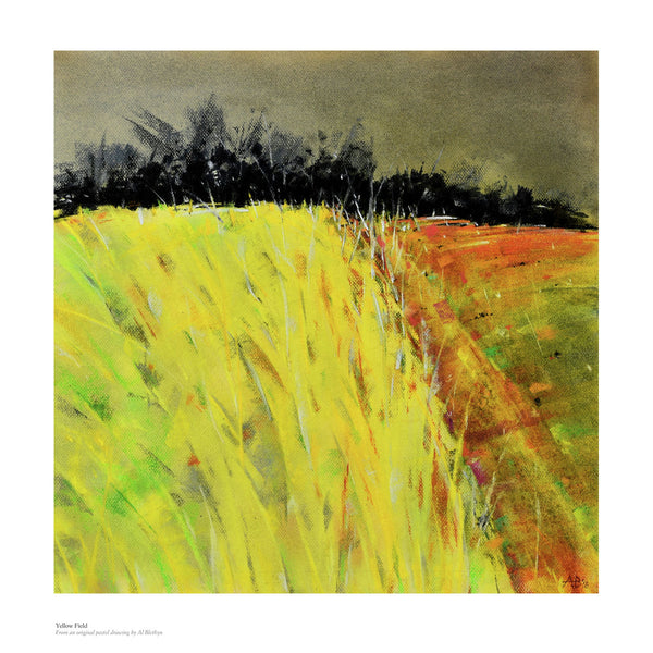 Yellow Field by Al Blethyn