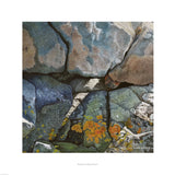 Fine art giclée print of rock face in Wales