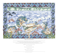 Fine art giclee print of a tale of the River Severn, Gloucestershire UK