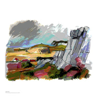 Fine art giclée print of UK landscape