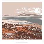 Fine art gyclee print of a coastline in Crete