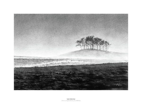 Fine art giclée print of Welsh Mist