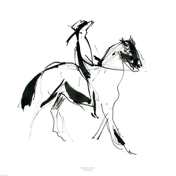Horse Study by Julia Midgley