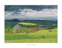 Gathering Storm Over Shropshire by Graham Brace