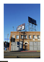 Fine art giclée photoprint of Santa Monica building. Los Angeles