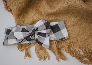 Top Knot & Bow Country Home Gingham