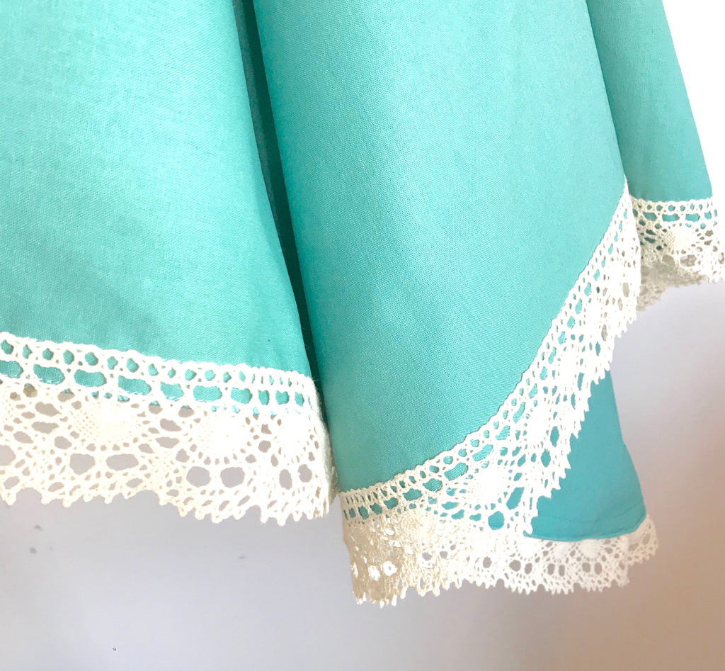 Teal Luxe Lace Wrap