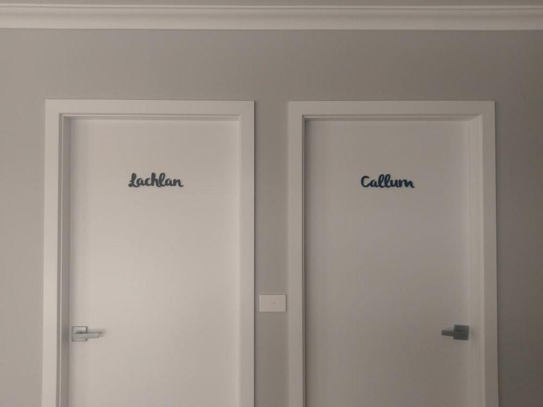 Door Name Plaques
