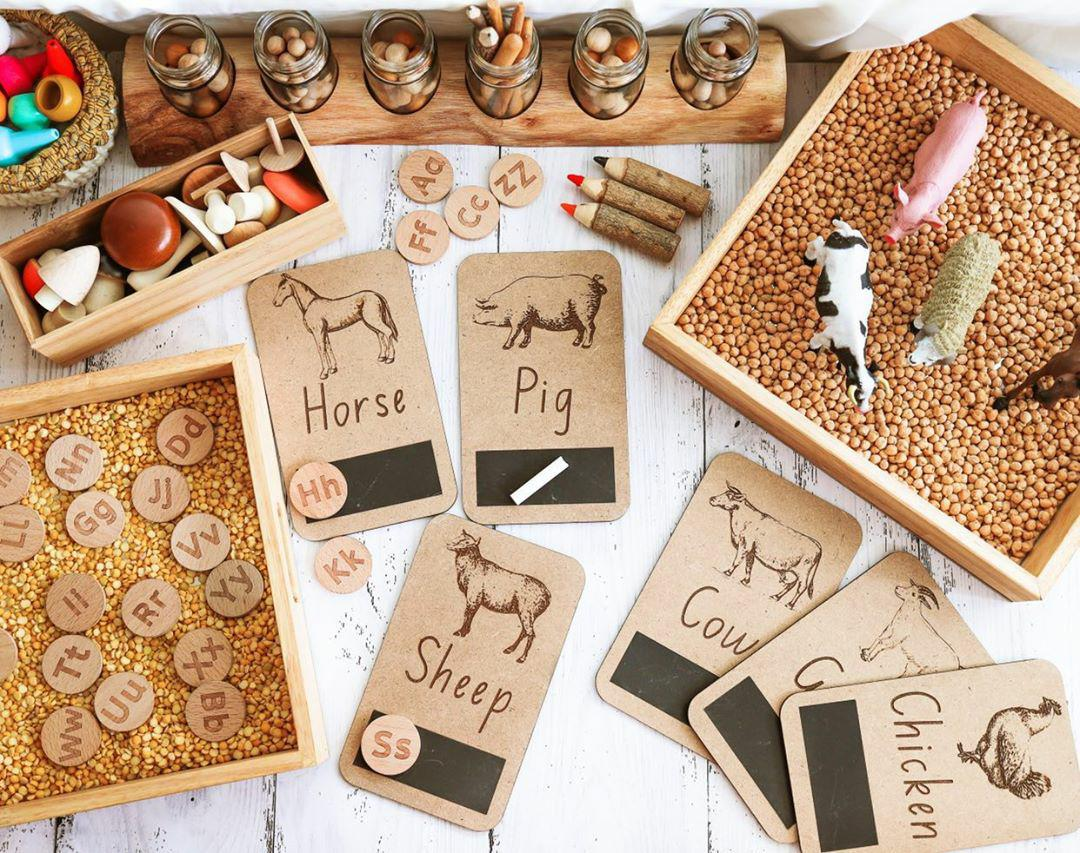 Farm Animal Flash Cards