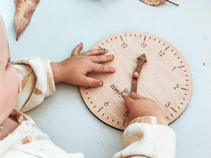 Montessori Timber Learning Clock