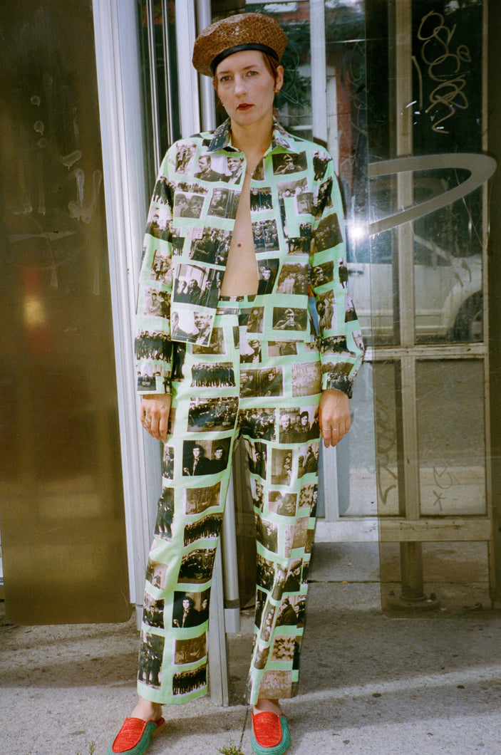 MINT PHOTO PRINT SHIRT - Michons Marigot