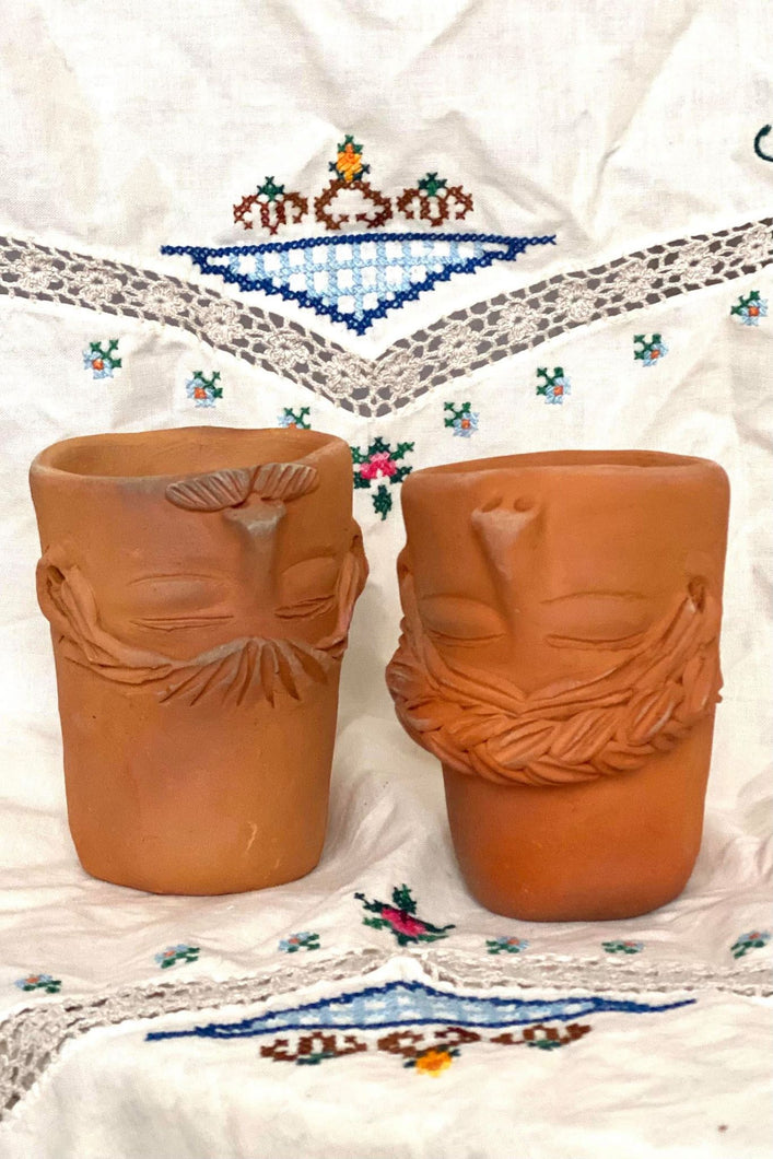 OAXACAN RED CLAY FACE CUP