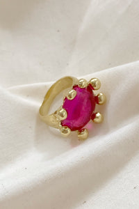 DIVA RING IN FUSCHIA - MONDO MONDO