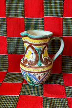 Load image into Gallery viewer, SMALL ITALIAN MAIOLICA IN BROWN/YELLOW/TURQUOISE