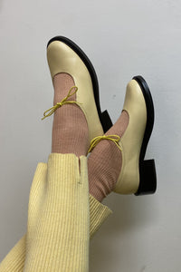 FABIANA SHOE IN BUTTER