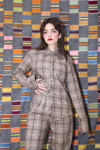 MIA SHIRT IN SYCAMORE PLAID - Town Clothes
