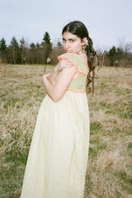 Load image into Gallery viewer, HAND CROCHETED ANNA DRESS IN MOSS